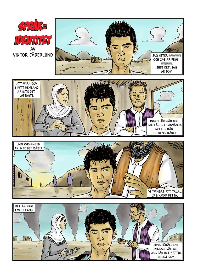 Språk=identitet page 1